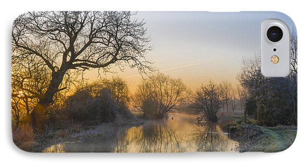 IPhone Case featuring the photograph Winter Sunrise by Trevor Chriss