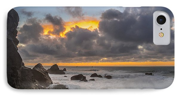Winter Sunset At Patrick's Point Phone Case by Greg Nyquist