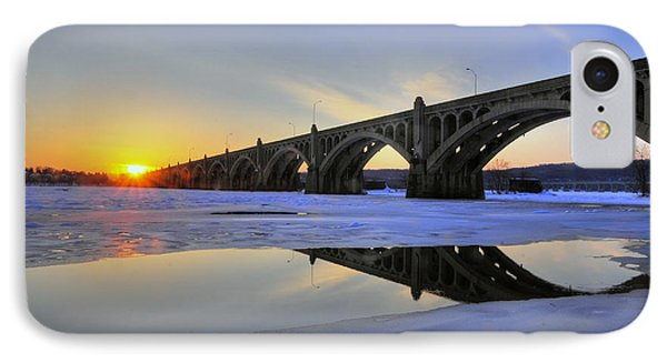 Winter Sunset IPhone Case by Dan Myers