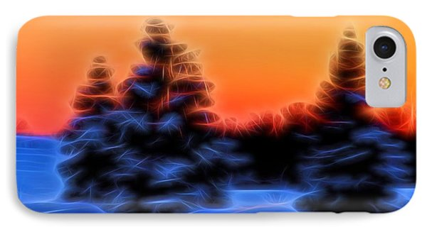 Winter Sunset IPhone Case by Dan Sproul