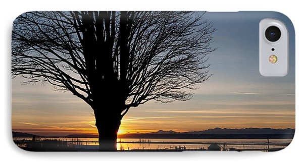 IPhone Case featuring the photograph Winter Sunset by Erin Kohlenberg
