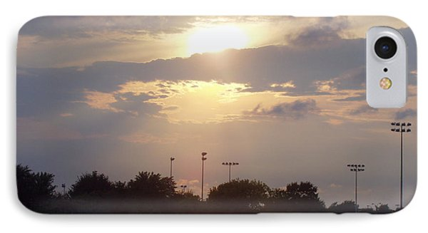 Winter Sunset In Freeport Ny Phone Case by John Telfer