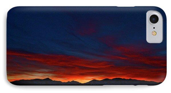 Winter Sunset Phone Case by Jeremy Rhoades