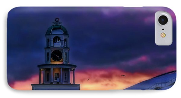 Winter Sunset  IPhone Case by Ken Morris