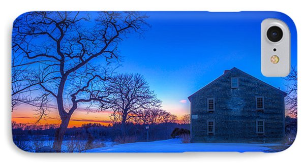 Winter Sunset IPhone Case by Michael Petrizzo