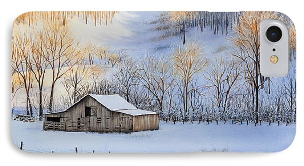 Winter Sunset Phone Case by Michelle Wiarda