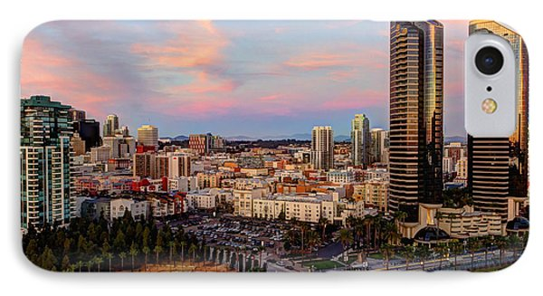 IPhone Case featuring the photograph Winter Sunset San Diego by Heidi Smith