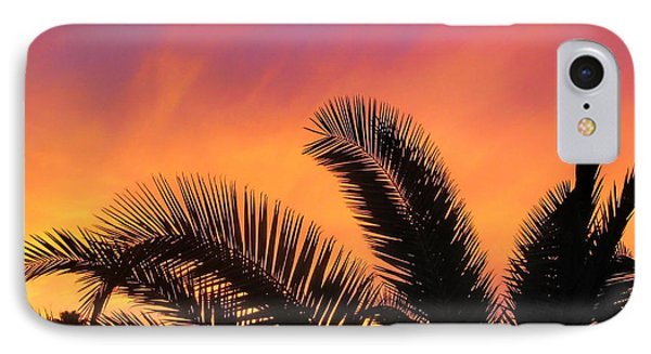 Winter Sunset Phone Case by Tammy Espino