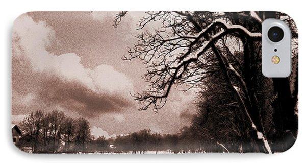 Winter Tale IPhone Case by Nina Ficur Feenan