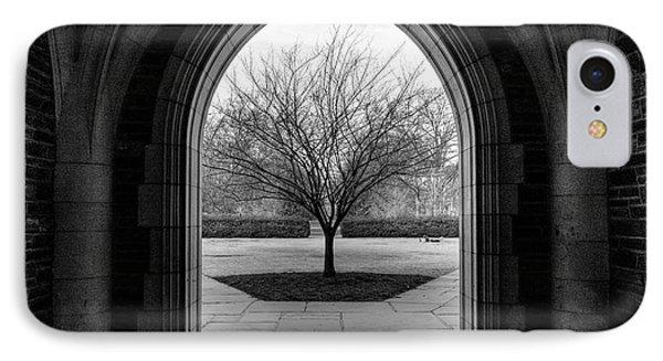 Winter Tree At Duke University IPhone Case
