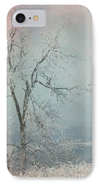Winter Tree IPhone Case by Jim  Hatch