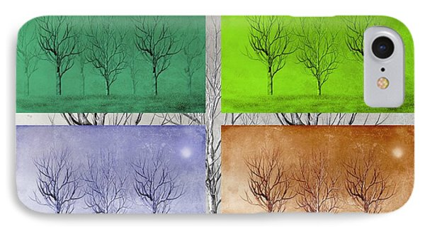 Winter Trees  Phone Case by David Dehner