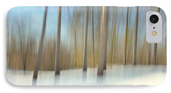 Winter Trees IPhone Case by Tricia Marchlik