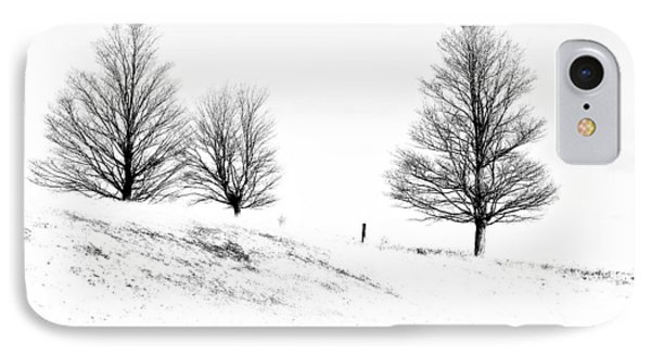 Winter Trinity Infrared Phone Case by Steve Harrington