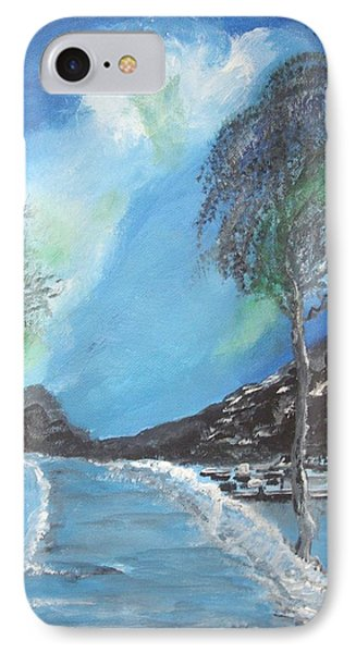 Winter Twilight IPhone Case by Carole Robins