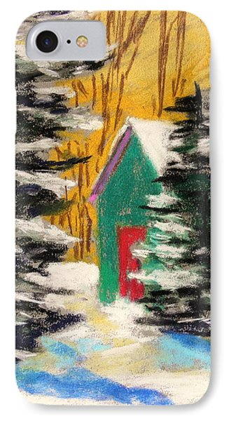 IPhone Case featuring the painting Winter Twilight by John Williams