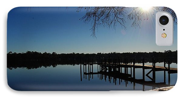 Winter Under The Bald Cypress IPhone Case