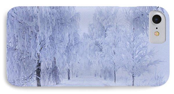 Winter IPhone Case by Veikko Suikkanen