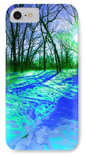 Winter Walk  IPhone Case by First Star Art