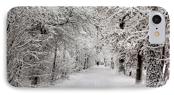 IPhone Case featuring the photograph Winter Walk In Fairytale  by Annie Snel