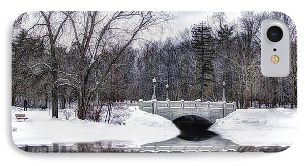 Winter Walk IPhone Case by Skip Tribby