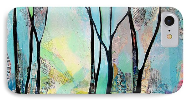 Winter Wanderings I IPhone Case by Shadia Derbyshire