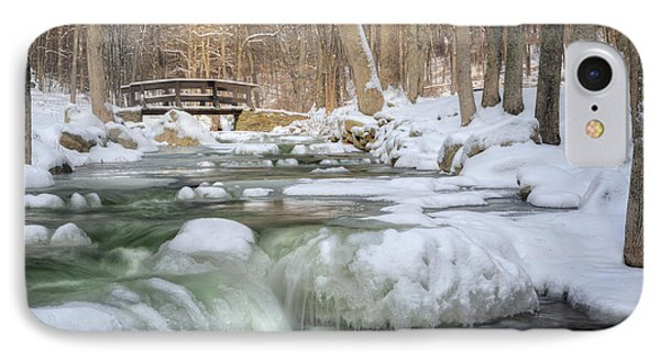 Winter Water IPhone Case by Bill Wakeley