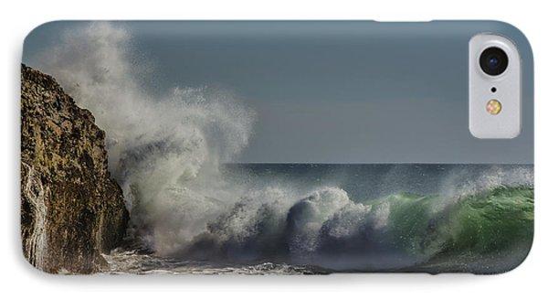 Winter Waves IPhone Case by Linda Villers