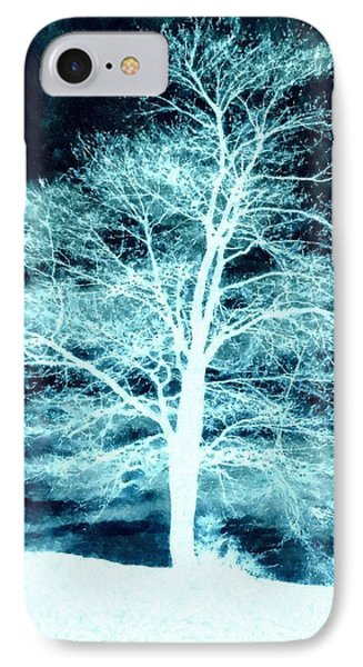 Winter Whispers Through The Night IPhone Case by Janine Riley