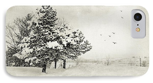 Winter White IPhone Case by Julie Palencia