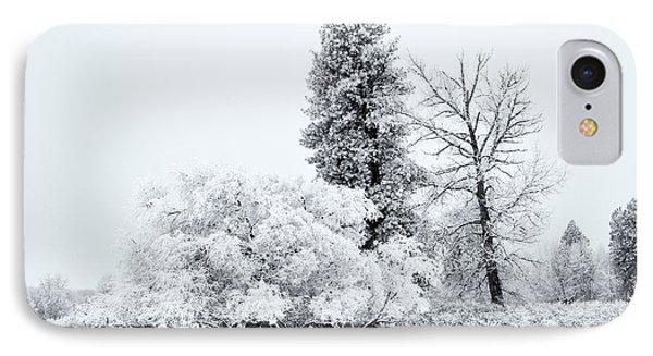 Winter White Phone Case by Mike  Dawson