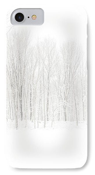 Winter White Out Phone Case by Karol Livote