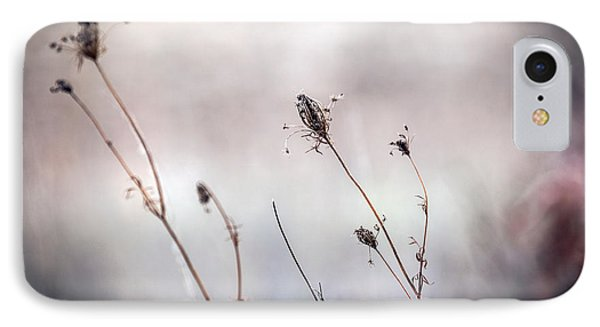 IPhone Case featuring the photograph Winter Wild Flowers by Sennie Pierson