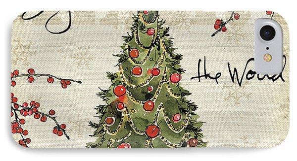 Winter Wishes I IPhone Case by Anne Tavoletti