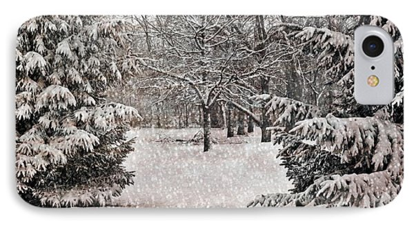 Winter Wonder 7  IPhone Case by Maria Huntley