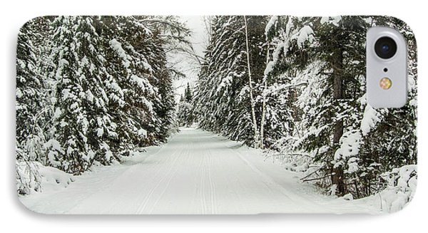 IPhone Case featuring the photograph Winter Wonder Land by Patrick Shupert