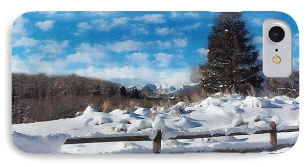 Winter Wonderland - Aspen IPhone Case by Kim Hojnacki