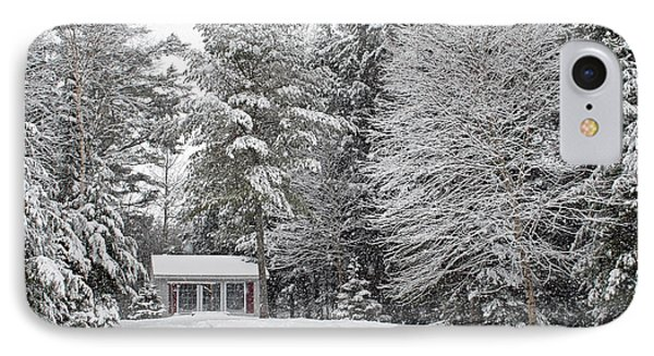 IPhone Case featuring the photograph Winter Wonderland by Barbara West