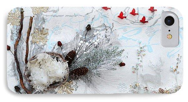 Winter Wonderland IPhone Case by Donna Blackhall