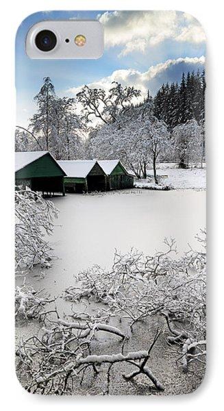 Winter Wonderland Phone Case by Grant Glendinning
