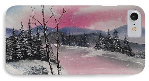 Winter Wonderland Phone Case by Kevin  Brown