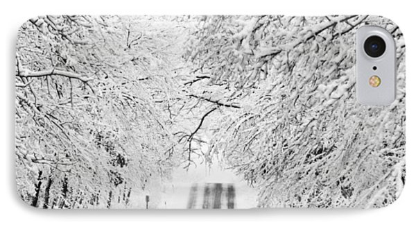 IPhone 7 Case featuring the photograph Winter Wonderland by Ricky L Jones