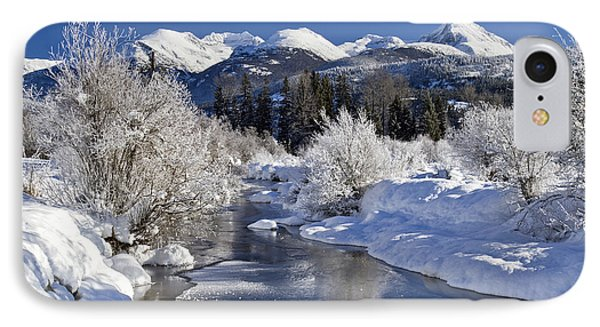 Winter Wonderland Whistler B.c IPhone Case by Pierre Leclerc Photography