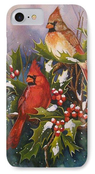 Winter Wonders Phone Case by Cheryl Borchert