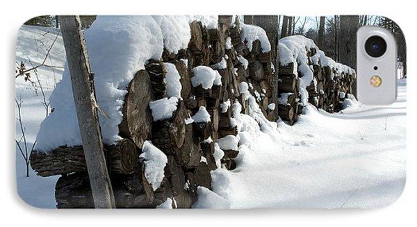 Winter Wood Supply IPhone Case by Jessie Parker