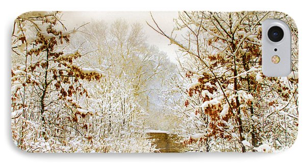 Winter Woods IPhone Case by Jessica Jenney