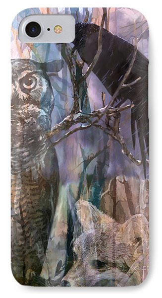 Winter Woods IPhone Case