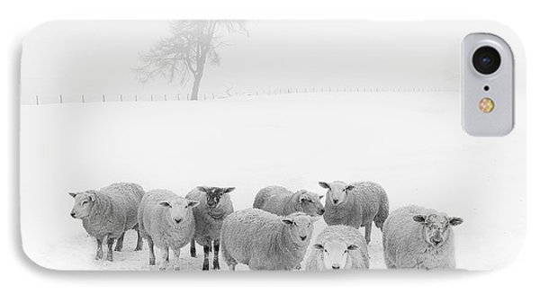 Winter Woollies IPhone Case by Janet Burdon