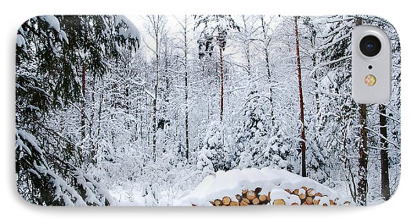 IPhone Case featuring the photograph Winterland by Kennerth and Birgitta Kullman