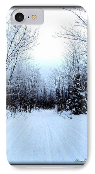IPhone Case featuring the photograph Winterlude In Abitibi Temiscamingue Quebec  by Danielle  Parent